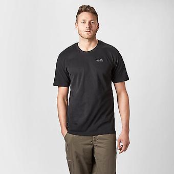 Neue Peter Storm Men's Heritage II Kurzarm T-Shirt schwarz