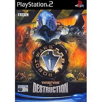 Robot Wars arenor förstörelse (PS2)-ny