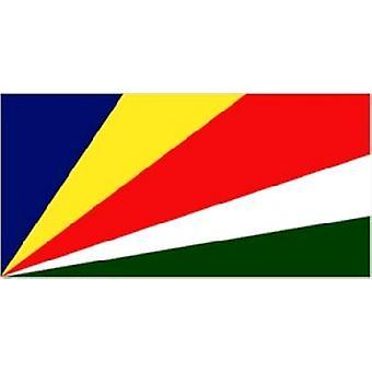 Сейшельские острова флаг 5 футов x 3 футов с петельками для подвешивания
