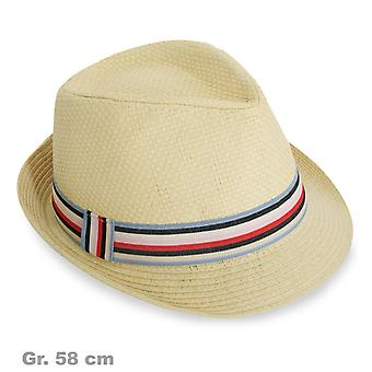 Hoed van Hermann mens Hat Strip band