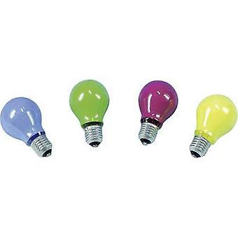 Barthelme Light bulb 230 V E-27 25 W Yellow Pear shape Content 1 pc(s)