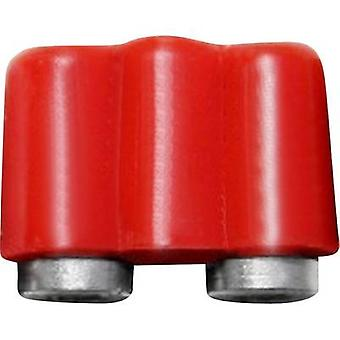 BELI-BECO 61/17rt Mini jack socket Connector, straight Pin diameter: 2.6 mm Red 1 pc(s)