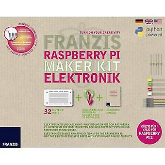 Franzis Verlag 65339 Raspberry Pi Maker Kit Elektronik Maker kit 14 år och äldre