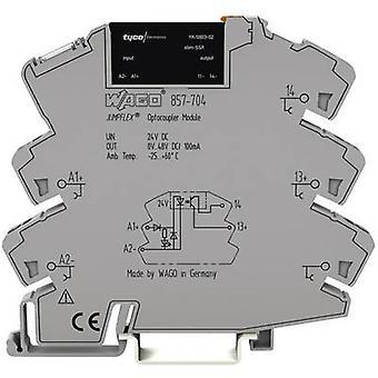 WAGO SSR 857-704 Carico corrente (max.): 100 mA Tensione di commutazione (max.): 48 V DC 1 pc(s)