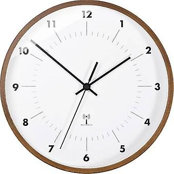 TFA דוסטמאן 98.1097 שעון וול רדיו 25.5 ס