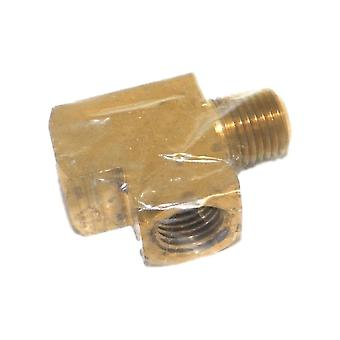 Big A Service Line 3-22740 Brass Female Branch Tee Fitting 1/4""