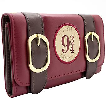 Harry Potter Hogwarts Express Buckle Coin & Card Tri-Fold Purse