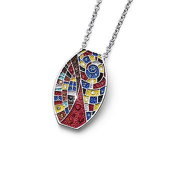 Oliver Weber Pendant Art One Rhodium