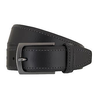 SAKLANI & FRIESE belts men's belts leather belt black 262