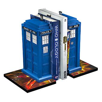 Doctor Who Tardis Bookend Set