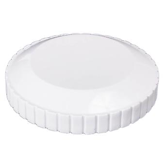 Custom 25552-020-300 Directional Flow Outlet Cap - White