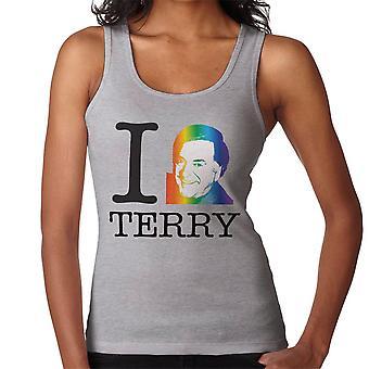 I Heart Terry Wogan Rainbow Women's Vest