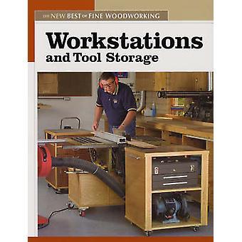 Werkstations en opslag van gereedschap door - fijne houtbewerking--9781561587858 B