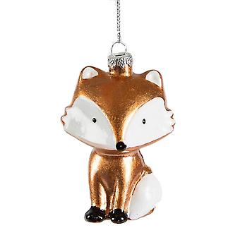 Sass and Belle Fox Christmas Bauble