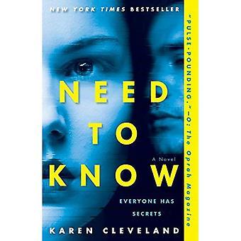 Behöver veta