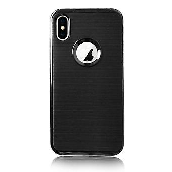 Black silicone case - iPhone X / XS