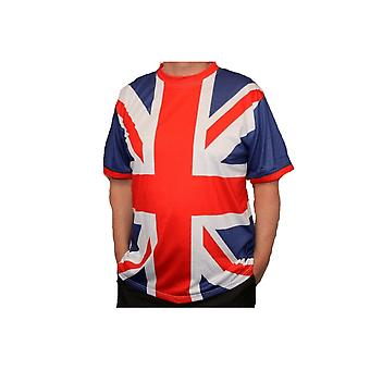 Union Jack Wear Union Jack All Over Design T Shirt