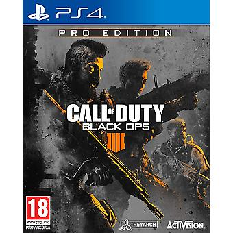 Call of Duty : Black Ops 4 Pro Edition (PS4)