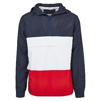 Accostare il giacca color blocco urbano classici uomo