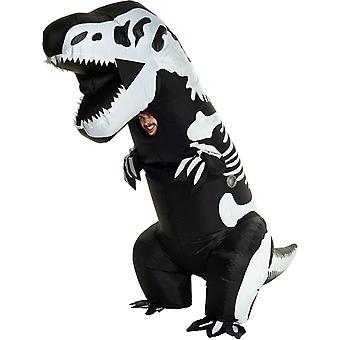 T-Rex skeleton Inflatable Adult Costume