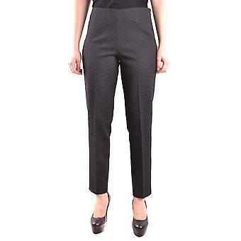 Pt01 Ezbc084039 Dames's Black Polyester Pants