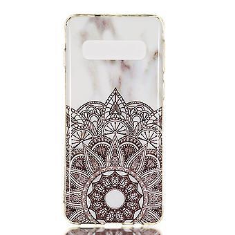 MTK Samsung Galaxy S10 TPU marmor-stil D