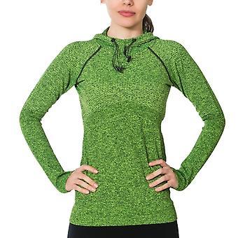 Jerf- Womens-linga -green - Hoodie