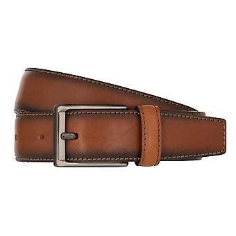 MIGUEL BELLIDO cinturón Lord cinturón de cuero Cognac 7997
