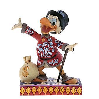 Disney Traditions Scrooge 'Treasure-Seeking Tycoon' Figurine