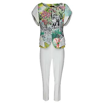 Arggido Safari Print Top & Trousers Set