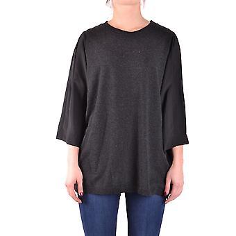 Spago Donna Ezbc300007 Women's Grey Viscose Sweater