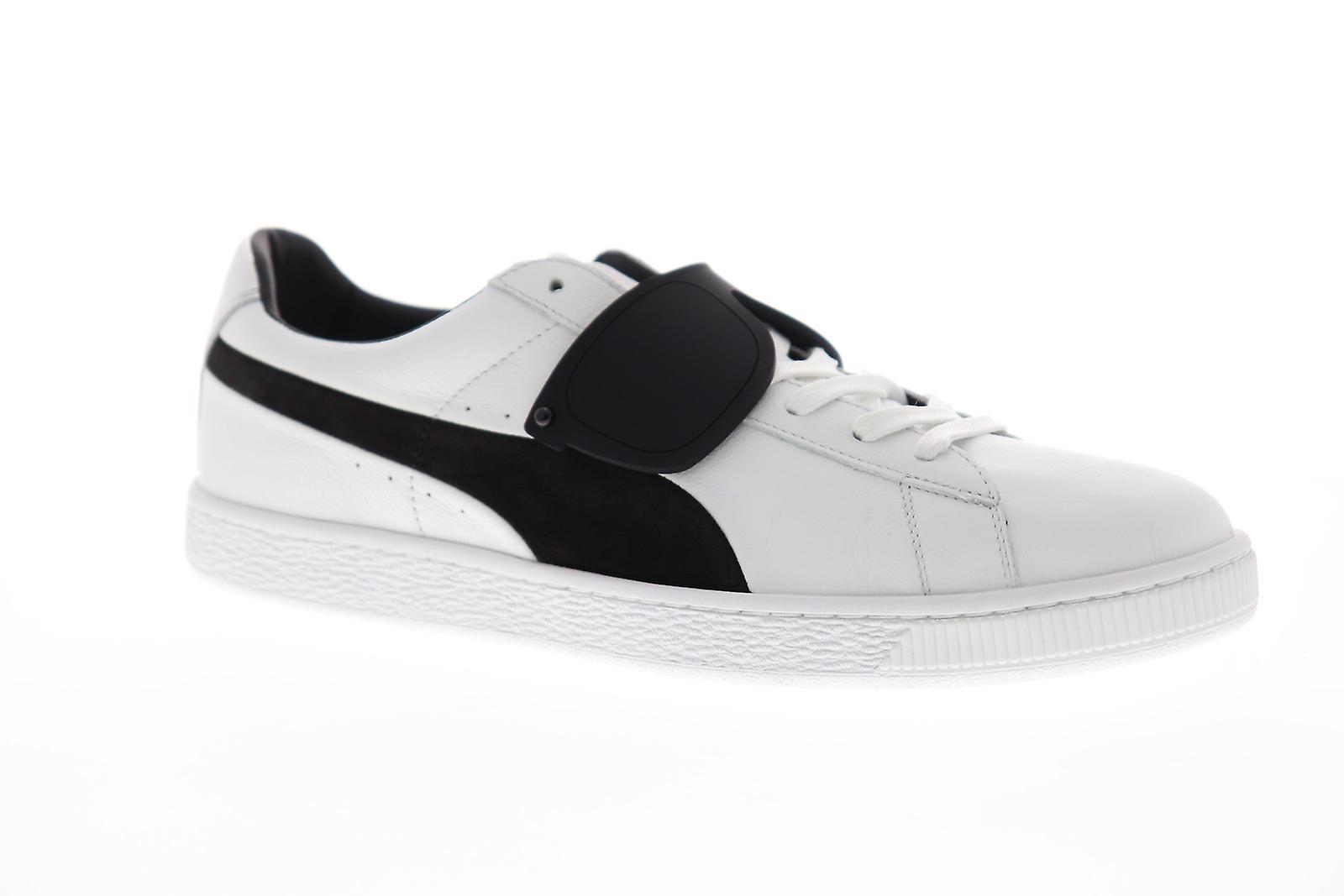 Puma Suede Classic X Karl mens hvid læder Low top sneakers sko