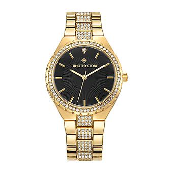 Timothy Stone Women's GALA Gold and Black Watch