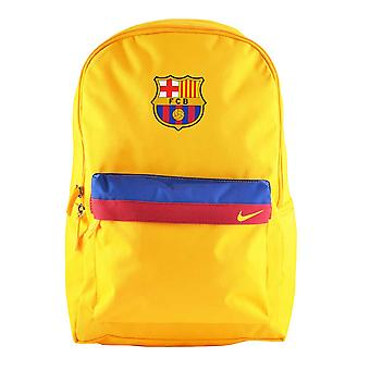 2019-2020 Barcelona Nike Stadium reppu (University Gold)
