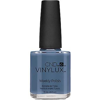 CND vinylux Craft Culture Weekly Nail Polish 2016 Colour Collection - Denim Patch (226) 15ML