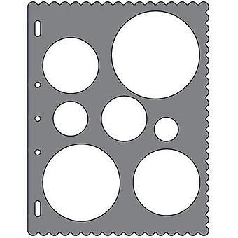 Fiskars Template circles shapetemplate (Babies and Children , Toys , School Zone)