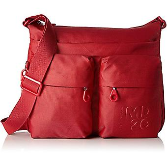 Mandarin duck Md20 Minuteria - Red Women's Shoulder Bags (Flame Scarlet) 4x28.5x33 cm (B x H T)