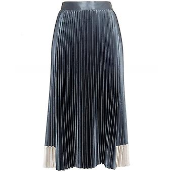 Ted Baker Glaycie Contrasto Pannello Pleated Midi Gonna