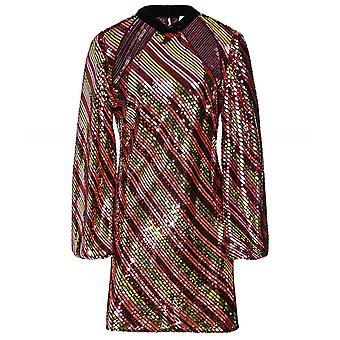 RIXO Harriet Sequin Embellished Mini Dress