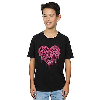 Marvel jongens ik hart Avengers T-shirt