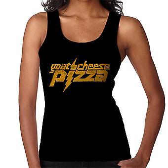 Zits gule geder ost pizza kvinder ' s vest