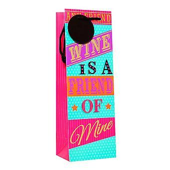 Симон Эльвин вино является другу Бутылка сумки (Pack из 6)