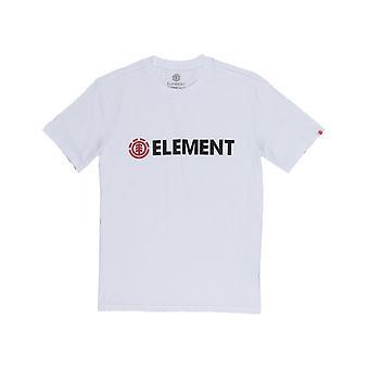T-shirt à manches courtes Element Blazin en blanc optique