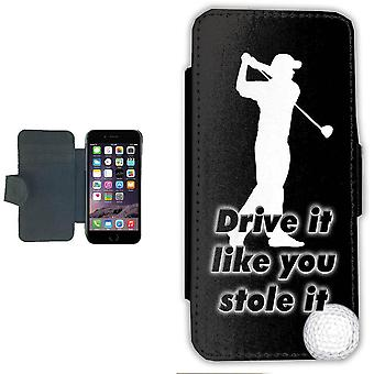 Golf Driver iPhone 7/8 wallet case Pouch wallet Shell