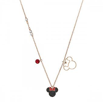 Swarovski Crystal Mickey Minnie Mix Colour Necklace 5429090