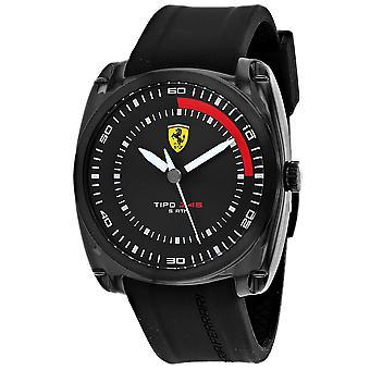 Ferrari Men's Tipo J-46 Black Dial Watch - 830319