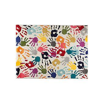 Kiddy Play Handy Rug - Rectangular - Multicolour