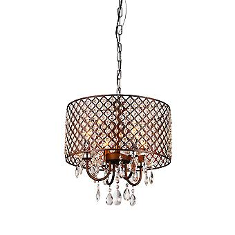 Alexia Antique Bronze Chandelier