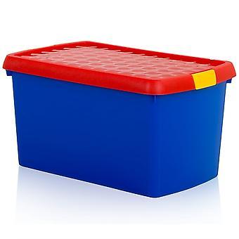 Wham Storage 14 Litre Rectangular Wham Clip Box With Lid 6.03 Wham Storage 14 Litre Rectangulaire Wham Clip Box With Lid 6.03