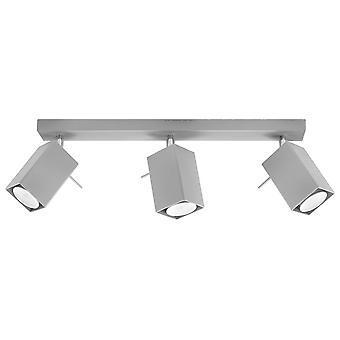 Sollux MERIDA 3 Light Spotlight Bar Grey SL.0457